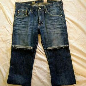 🍁AG Slim Straight Jeans Size 29 ,(waist)